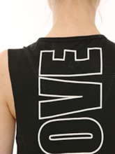 Letter Loose Quick Dry Breathable Sports Vest