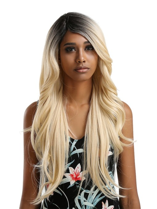 Loose Wavy Synthetic Hair Women Lace Front Wigs 26 Inches