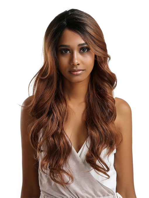 Big Curly Synthetic Hair Women Capless Wigs 20 Inches