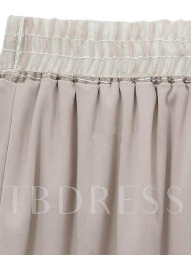 Mesh Pleated High Waist Women's Cupcake Skirt