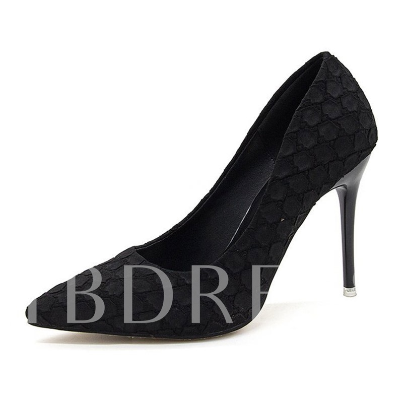 Buy Pointed Toe Stiletto Heel Slip-On Unique Women's Pumps, Spring,Summer,Fall, 13346638 for $34.42 in TBDress store