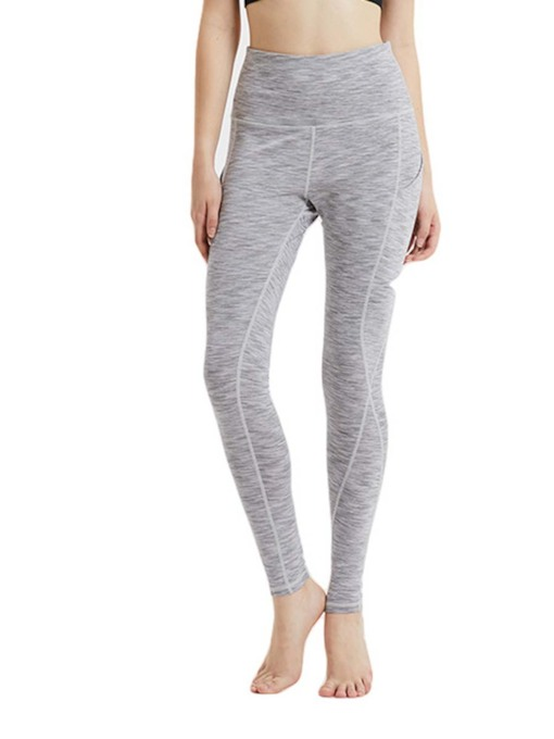 Quick Dry Solid Womenp's Sports Leggings