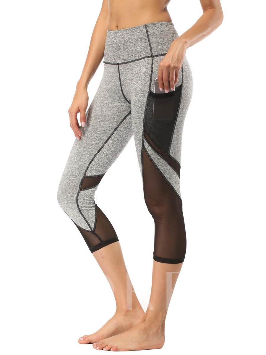 Breathable Patchwork Womenp's Sports Leggings