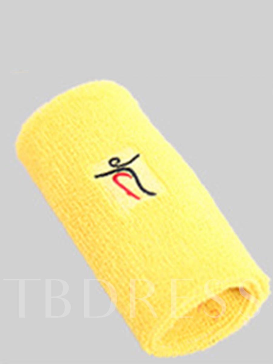 Cotton Breathable Sweat-absorbent Sports Wristband