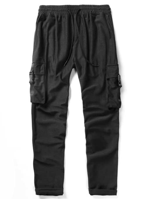 Plain Loose Fall European Men's Casual Pants