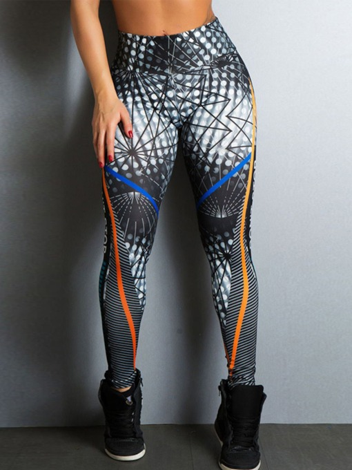 Print Digital Anti-Sweat Yoga Leggings