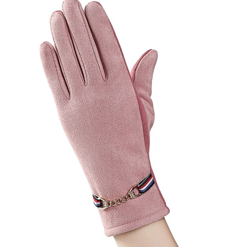 Casual Suede Warm Winter Gloves
