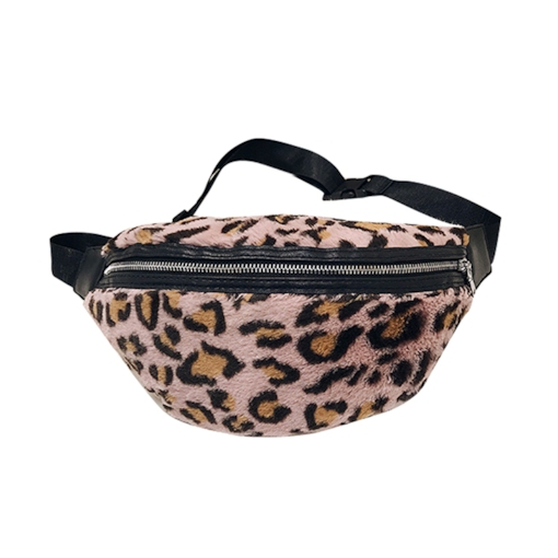 Sport Leopard Women Thread Zipper Saddle Waist Fanny Pack