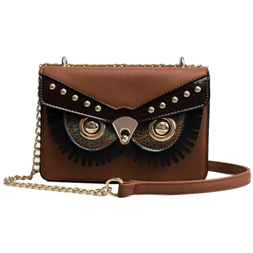 PU Rivet Envelope Crossbody Bags