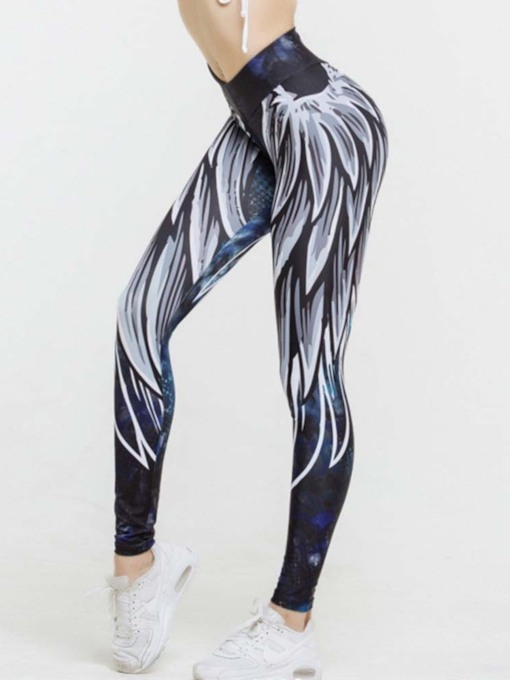 Print Thin Casual Women's Leggings