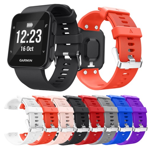 Colorful Silicone Strap Replacement Watch band For Garmin Forerunner35 Wrist strap for Garmin Forerunner 35 Wristband Bracelet