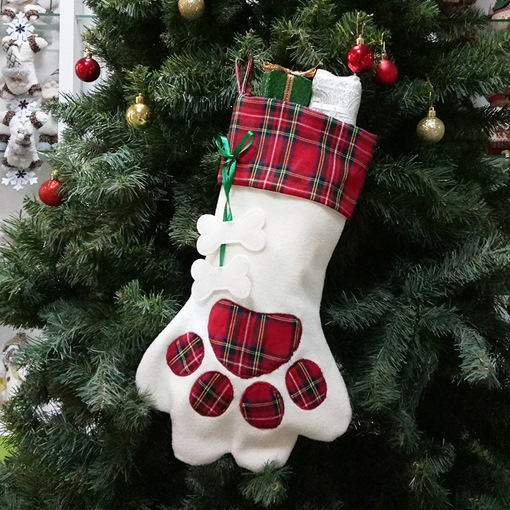 Cute Xmas Decoration Christmas Hanging Gloves