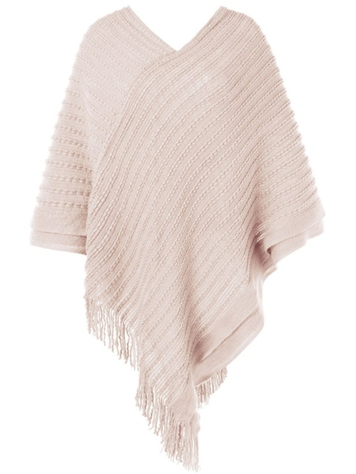 Loose V-Neck Tassel Spring Women's Sweater