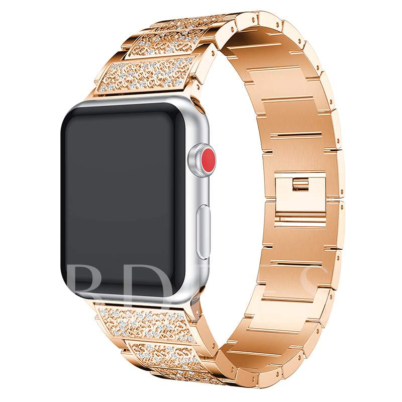 For Apple Watch 3 iWatch Replacement Band Aluminum Alloy Strap