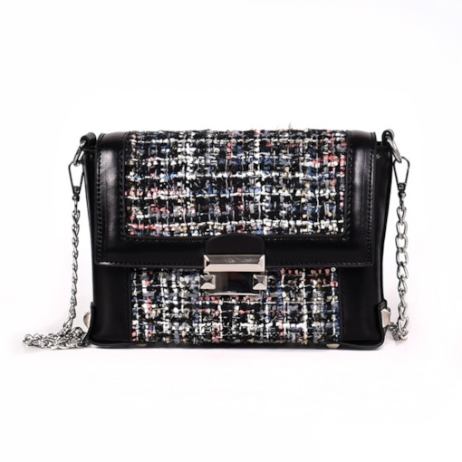Chain PU Korean Rectangle Crossbody Bags