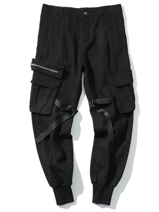 Loose Camouflage Overall Men's Casual Pants