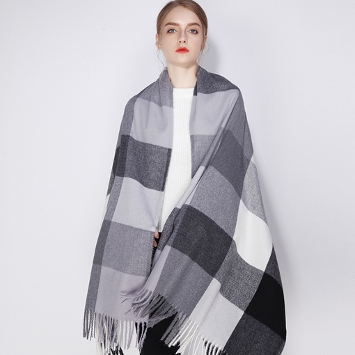 England Style Houndstooth Fall Winter Scarves