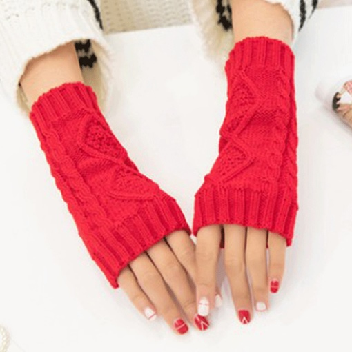 Woolen Yarn Casual Winter Gloves