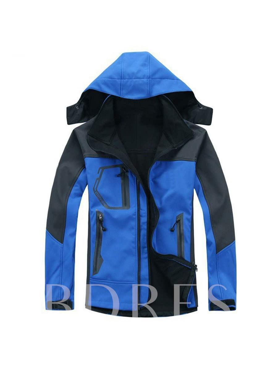 Windproof Waterproof Composite Single Layer Men's Jacket