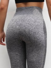 Women's Capris Breathable Seamless Sports Mid-Calf Leggings