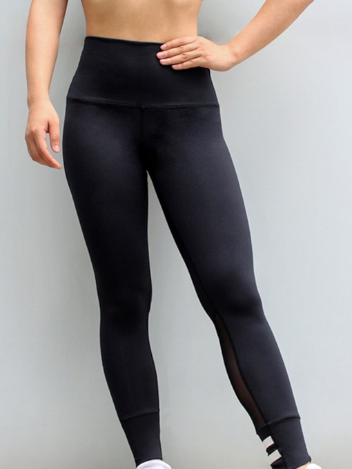 Patchwork Breathable Anti-Sweat Sports Leggings for Women