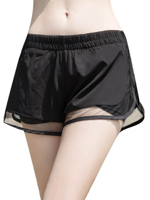 Mesh Loose Breathable Women's Sports Short