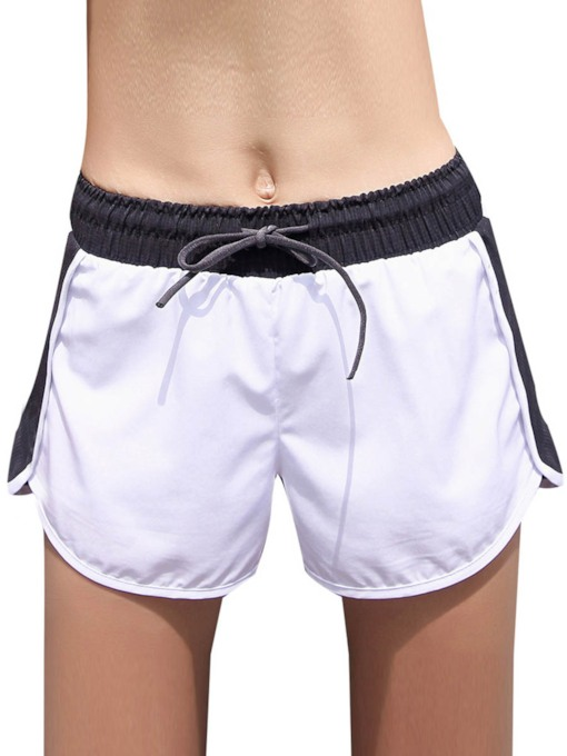 Color Block Quick Dry Women's Sports Short