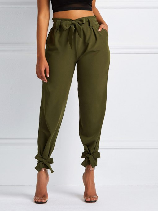 Loose Full Length Women's Casual Pants