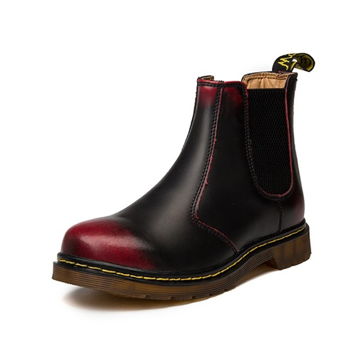 Round Toe Elastic Sewing Men's Chelsea Boots