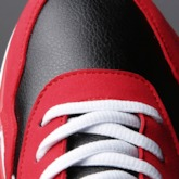 Color Block Lace-Up Round Toe Versatile Men's Sneakers