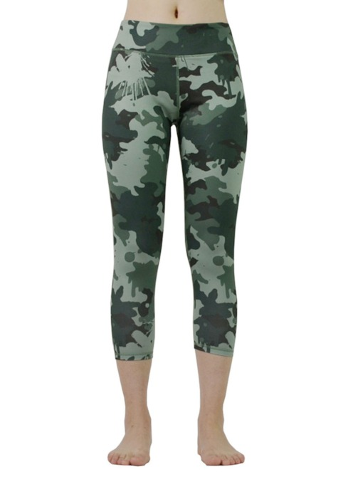 Camouflage Print Anti-Sweat Pants