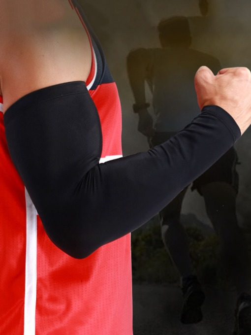 Breathable Anti-Sweat Elbow Pad Armguard Forearm Support