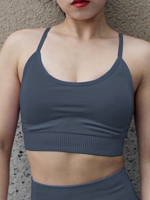 Shockproof Plain Sports Bra