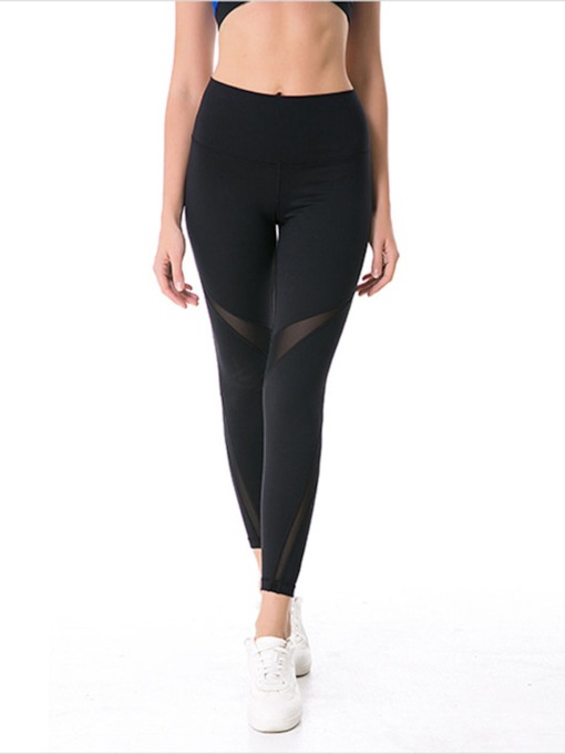 Patchwork Anti-Sweat Quick Dry Women's Sports Leggings