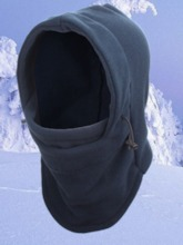 Cold-Proof Camail Flannel Hood
