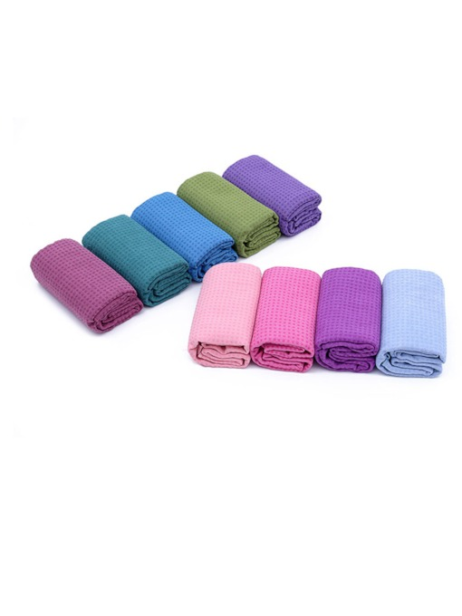 Silicone Particle Microfiber Anti-Sliding Yoga Towel