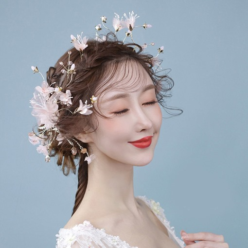 Hairpin Floral Korean Hair Accessories (Wedding)
