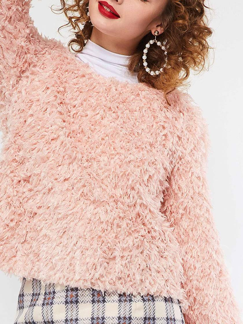 Flare Sleeve Loose Women's Sweater