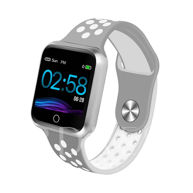 S22 Smart Watch Bluetooth 4.0 Heart Rate Monitor Blood Pressure Call Reminder