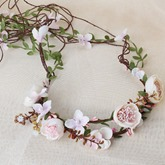 Floral Handmade Hairband Hair Accessories (Wedding)