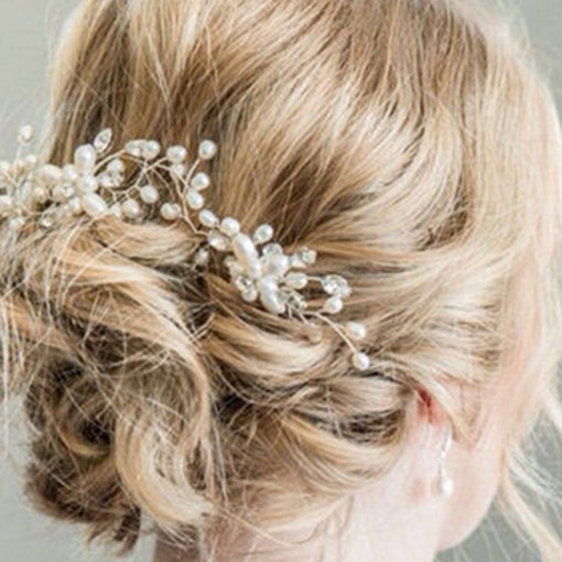 Handmade Hair Stick Korean Hair Accessories (Wedding)