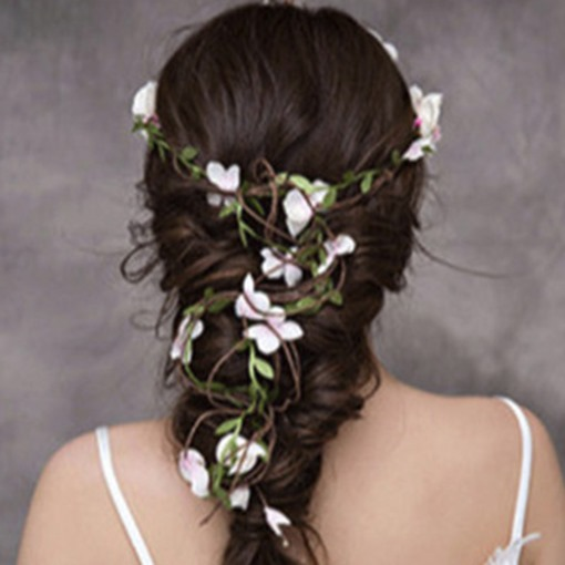 Head Flower Korean Floral Wedding Hair Accessories
