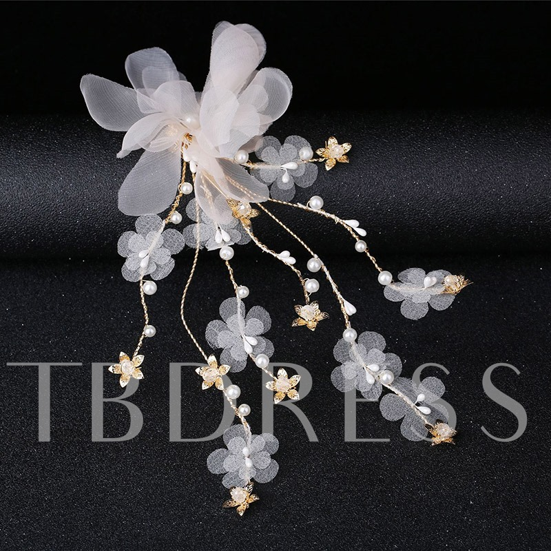 Korean Head Flower Floral Hair Accessories (Wedding)