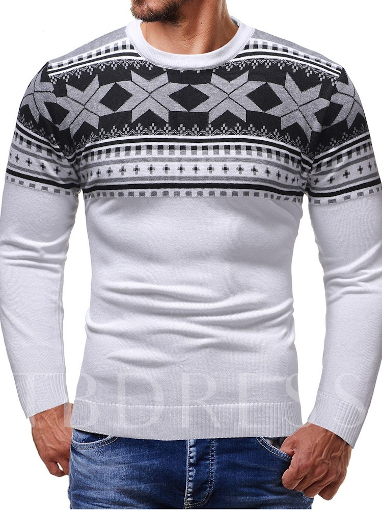 Ugly Christmas Round Neck Men's Sweater