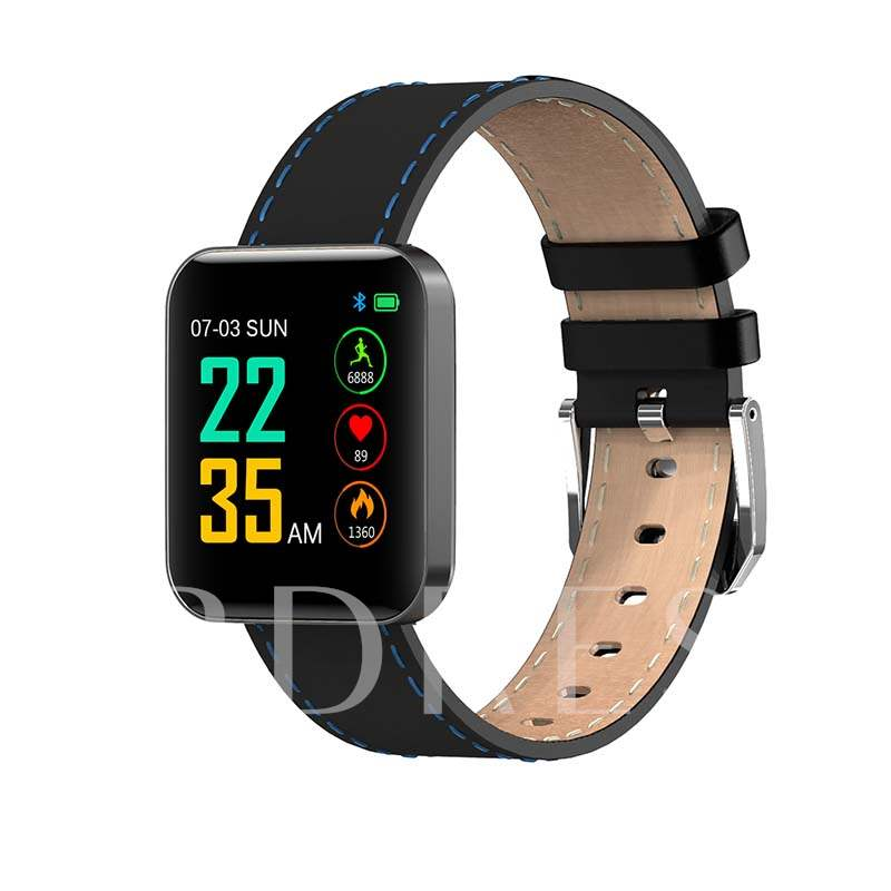 S88 Smartwatch Blood Pressure Heart Rate Monitor for Android & IOS Phones