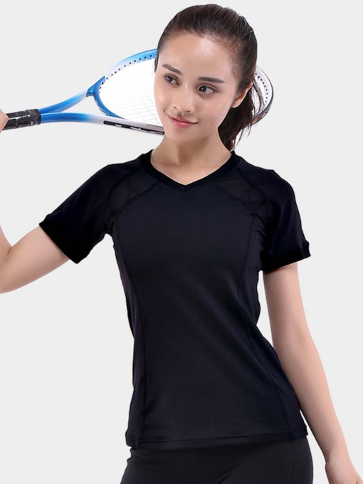 Short Sleeves Quick Dry Women Tee