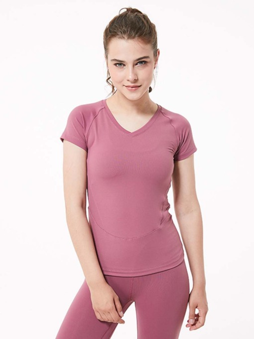 Short Sleeves Breathable Quick Dry Women's Top