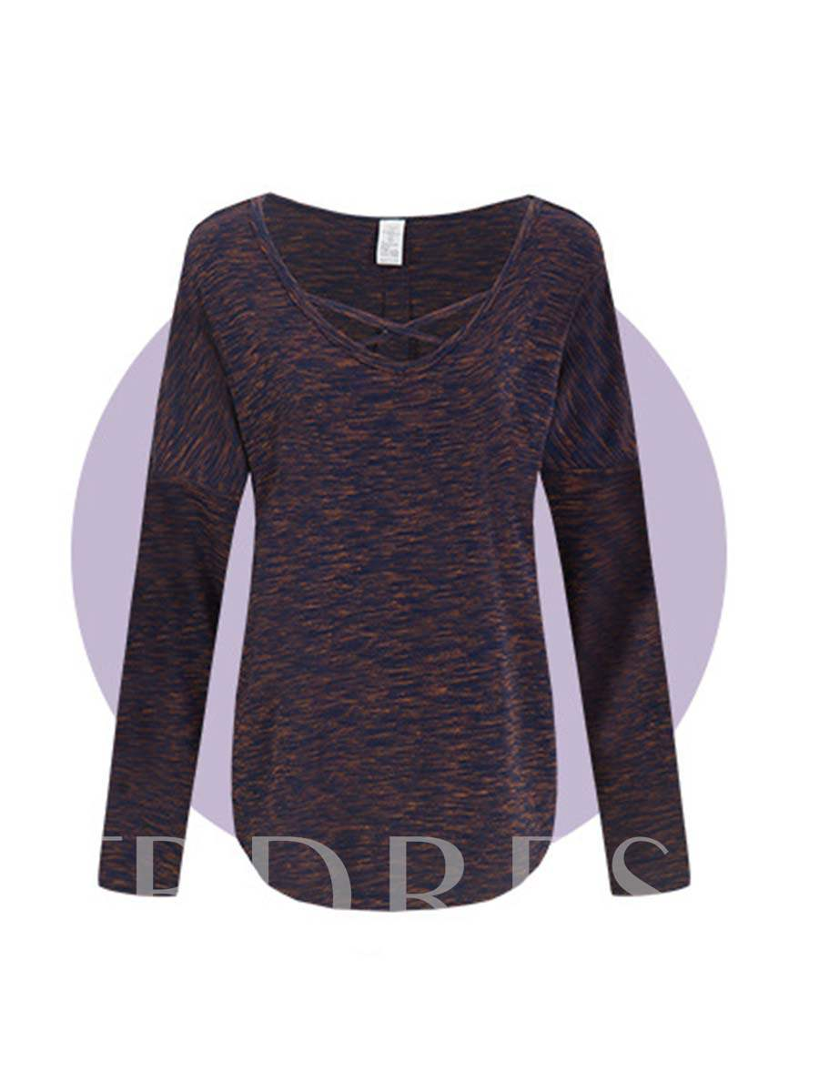 Loose Long Sleeves Quick Dry Women's Sports Tee