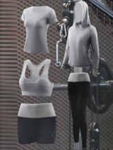 Breathable Quick Dry Sports Set for Women