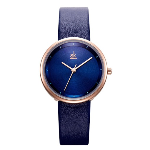 Analogue Display Water Resistant PU Band Lady Watches